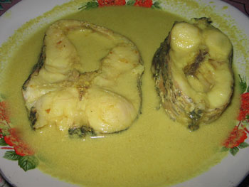 Ikan Gabus Kuah Kuning Resep Mbak Asri